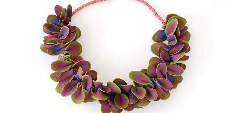 Shell Necklace (006),2014 ,polymer & sterling