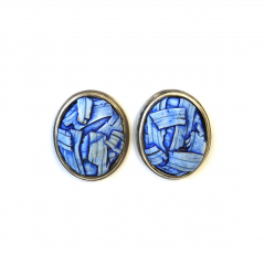 Button Earrings (080)