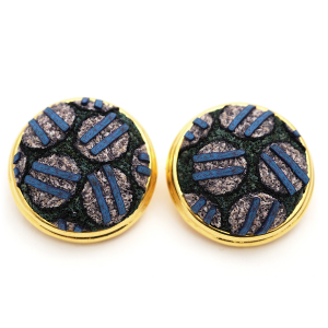 Button Earring (65), 2009