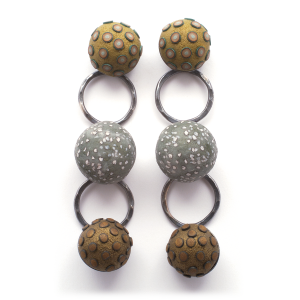 Satellite Dange Earrings (1), 2008