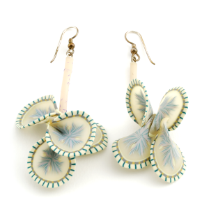 Vine Earrings (1), 1995