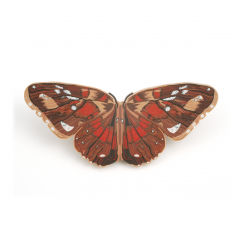 Butterfly Pin (5),1992, polymer