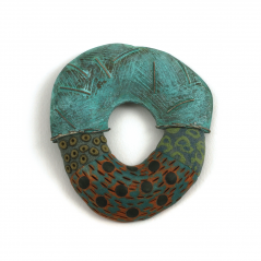 Hydro Pin (54), 2006, polymer & copper