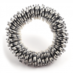 Urchin Pin (19),2012, polymer & sterling