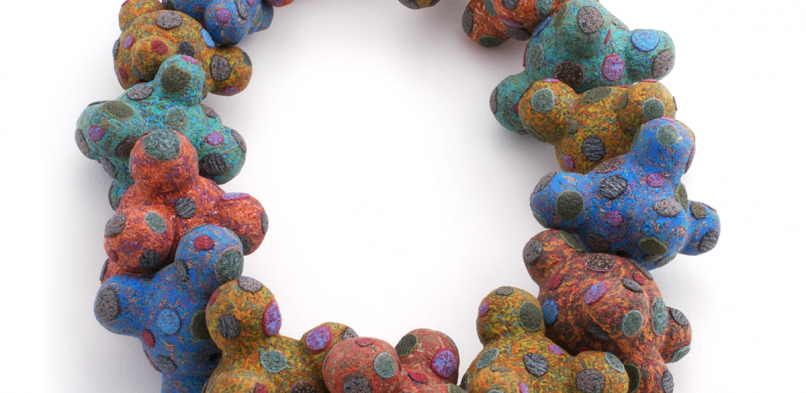 Big Bead Necklace (3), 2006, polymer & sterling