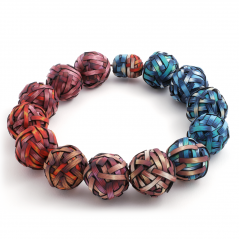 Big Bead Necklace (10), 2010, polymer