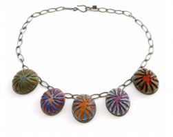 Button Necklace (4), 2010