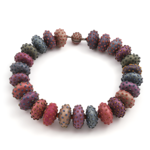 Flattened Bead Necklace (8),2005