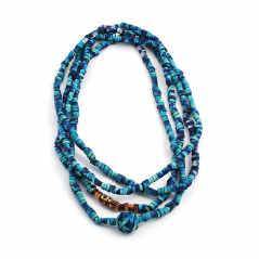 Ikat Rope Necklace (2), 1998, polymer