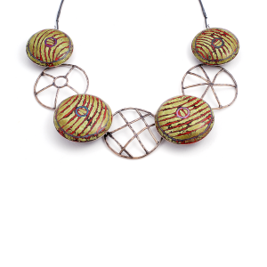Pillow Cable Necklace (13),2009
