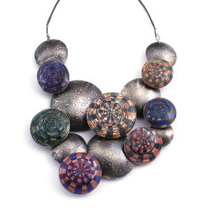 Pillow Cascade Necklace (17),2010