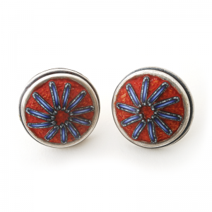 Button Earring (136), 2015