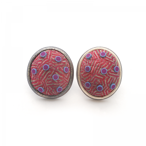 Button Earring (193), 2016