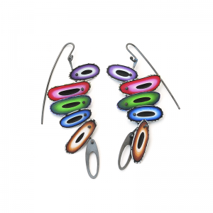 Chip Earrings (5), 2014