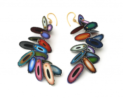 Chip Earrings (9), 2015
