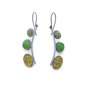 Pebble Earrings (200), 2016