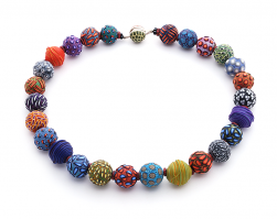 BigBead necklace (140) ,2015