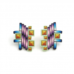 Cane Earrings (008),1994