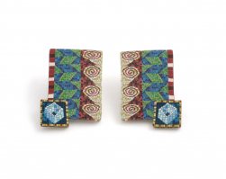 Cane Earrings (013),1994