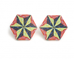 Cane Earrings (038),1995