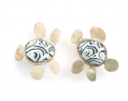 Pebble Earrings (003),2010