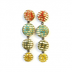 Satellite Earrings (036), 2014